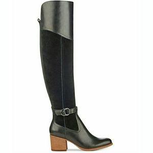 🆕Marc Fisher Over-The-Knee Block-Heel Boots